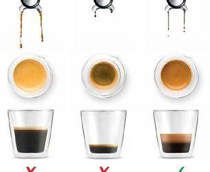 Sur- et sous-extraction d'un espresso